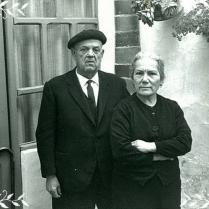 Ángeles y su marido, el bisabuelo Ramón